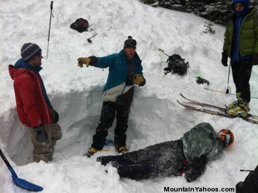 Avalanche training course