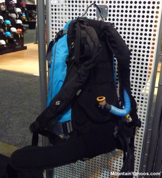 Black Diamond Aqualung backpack