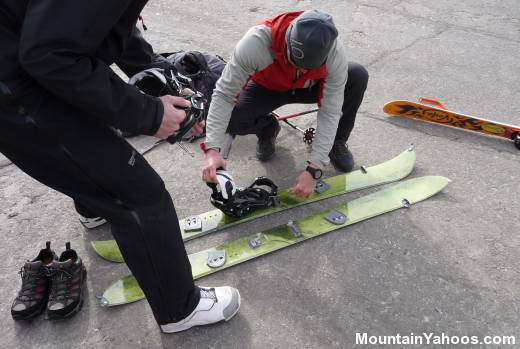 Mountaineering Splitboard