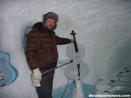Ice Instrument: Cello