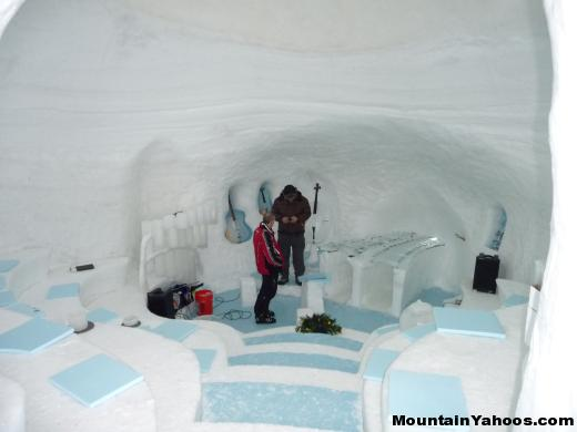 Ice Music Symphony: Inside Igloo
