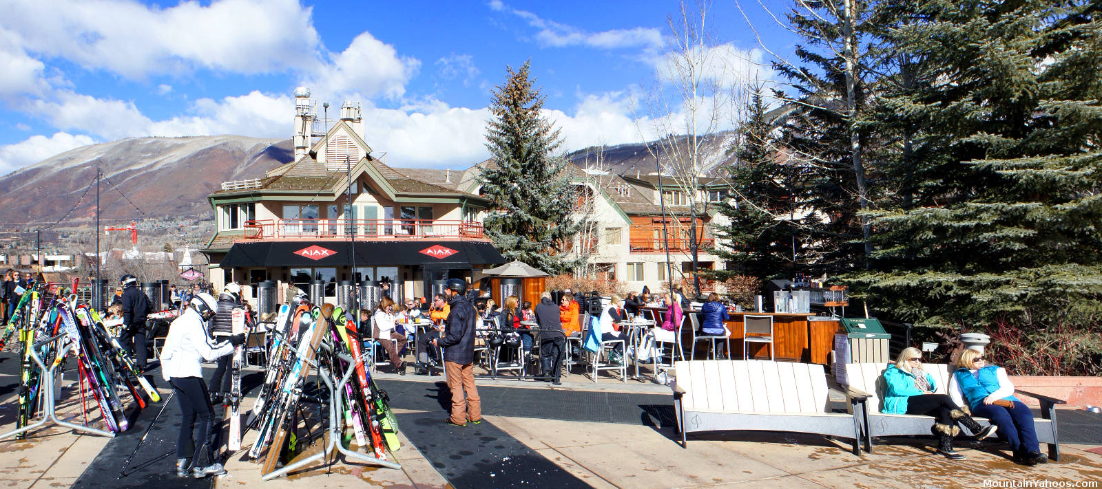 aspen mountain colorado (us) ski resort apres ski, dining, bars