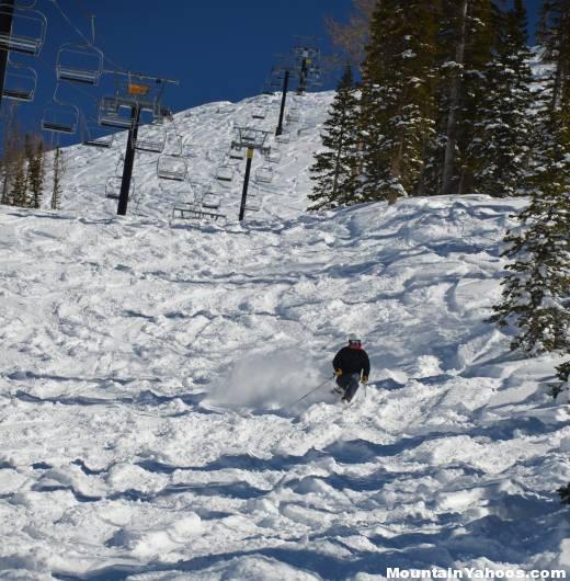 Sun Spot Black Diamond Ski Run