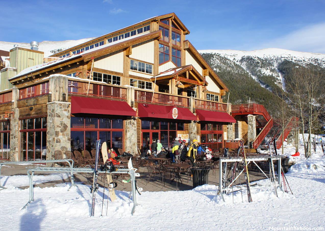 Copper Mountain Colorado Us Ski Resort Apres Ski Dining Bars