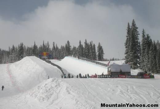 how to ride halfpipe ski