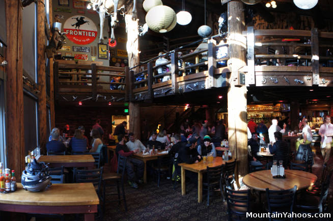 Jackson Hole Wyoming Us Ski Resort Apres Ski Dining Bars