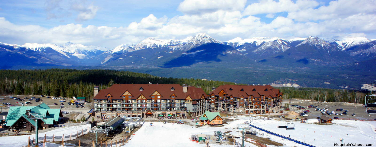 kicking horse mountain resort british columbia (canada) ski resort