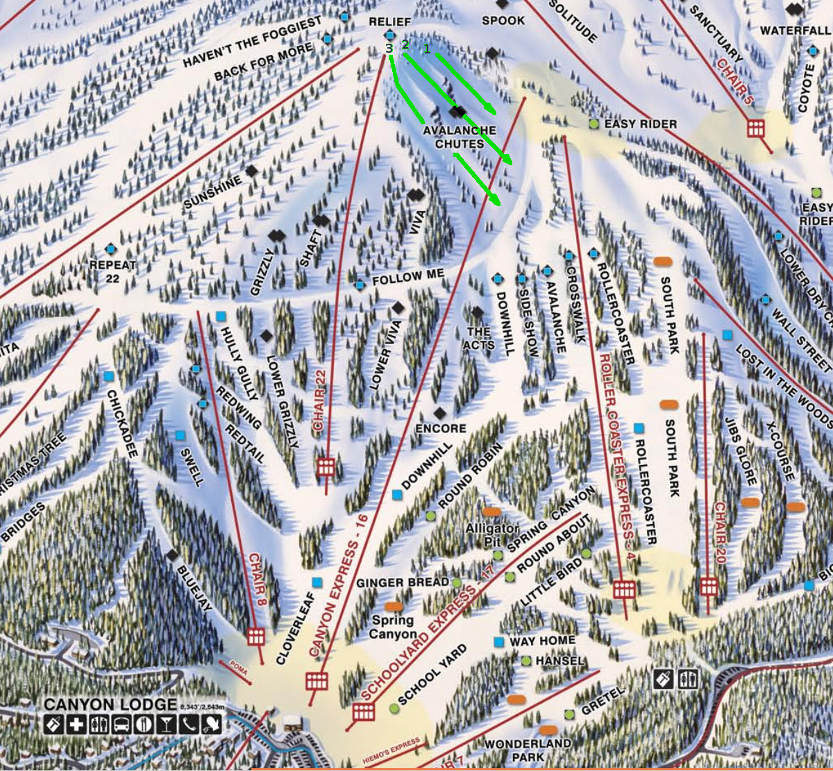 Mammoth Mountain: Lincoln Peak and the Avalanche Chutes on chief mountain trail map, bishop trail map, jericho mountain trail map, parker mountain trail map, map of vail mountain trail map, alpine meadows ski resort trail map, snowbasin mountain trail map, mammoth trail map pdf, salisbury ct trail map, catalina mountain trail map, attitash bear peak trail map, laurel mountain trail map, mendocino trail map, ski mountain map, mammoth mtn trail map, morgan creek trail map, powder mountain trail map, city park bike trails map, snowbird mountain trail map, big mountain trail map,