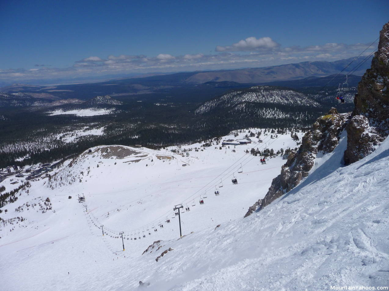Mammoth mountain california us ski resort review and guide for Chair 23 mammoth