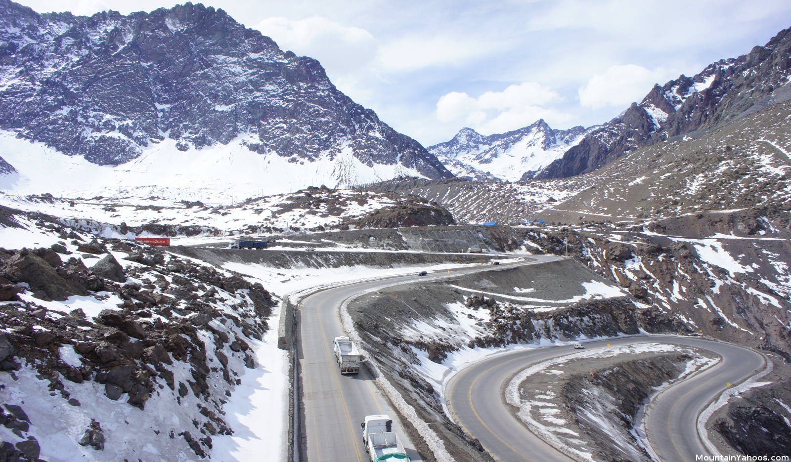 portillo (chile) location, map and directions
