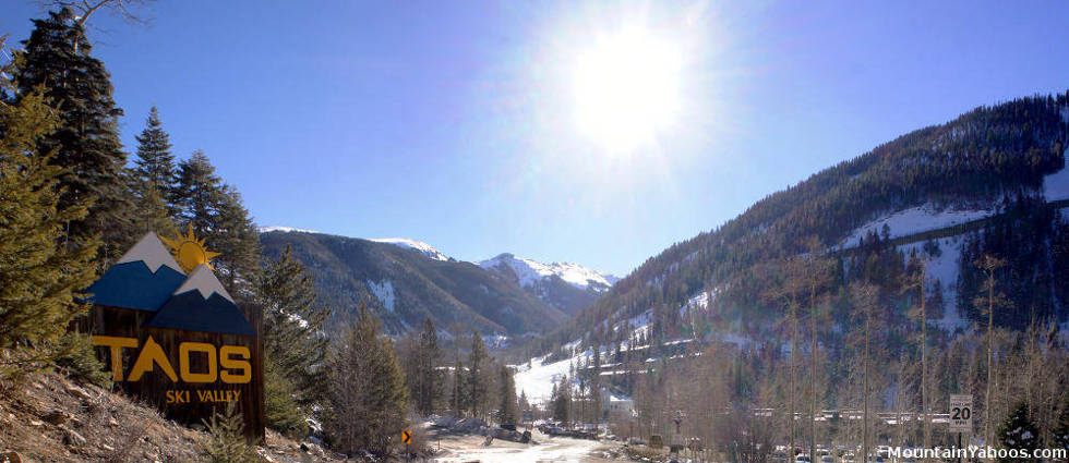 Taos Ski Valley New Mexico (US) Ski Resort Review and Guide Taos Ski Valley Map on