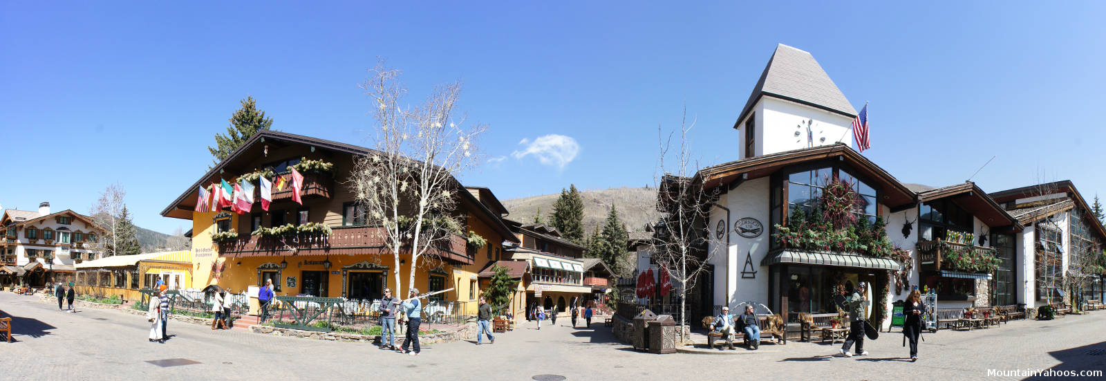 View of vail village