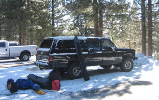 1989 chevy suburban 4x4 with the following mountain features