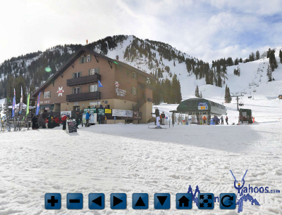 Alta Utah mountain base