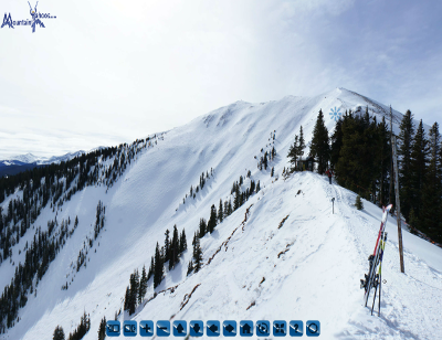 Aspen Highlands: Highland Bowl hike and descent panoramic tour