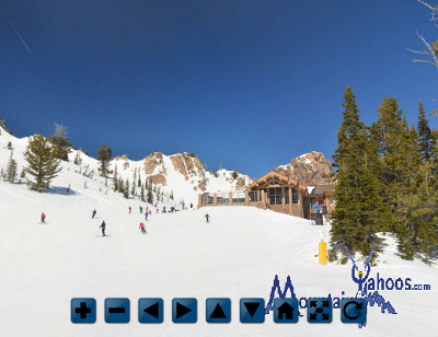 Snowbasin Utah: Mid mountain