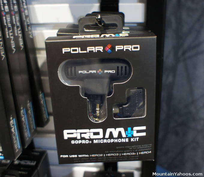Polar Pro: Go Pro camera microphone kit